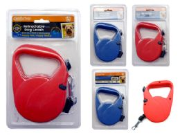 72 Units of 5m Retractable Dog Leash - Pet Collars and Leashes