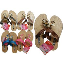 24 Units of Women's Slipper 4asst Colors - Women's Slippers