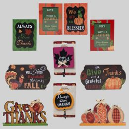 30 Units of Harvest Decor 30pc Shipper 10ast Frames/signs/hooks In Powerpanel Mdf/upc Labels - Frying Pans and Baking Pans