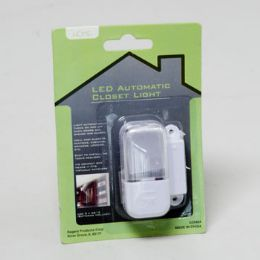 48 Units of Closet Light Automatic Led Battery Operated Easy Install Home Blister Card - Air Fresheners
