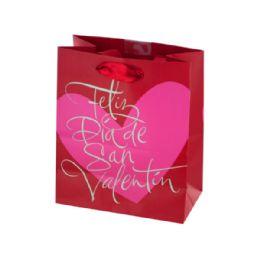 108 Units of Feliz Dia De San Valentin Gift Bag - Gift Bags