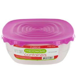 36 Units of Microwave Food Containers Set - Storage Holders and Organizers