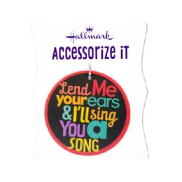 144 Units of 'lend Me Your Ear' Gift Trim Tag - Gift Bags