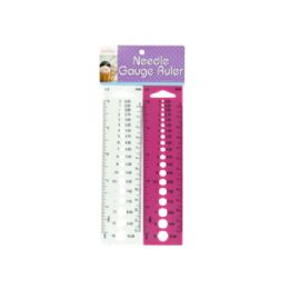 72 Units of Needle Gauge Ruler Set - Rulers