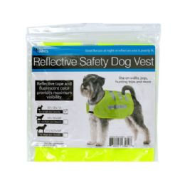 36 Units of Reflective Dog Safety Jacket - Pet Accessories