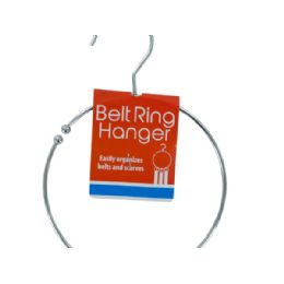 72 Units of Metal Belt Ring Hanger - Storage Holders and Organizers