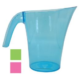 24 Units of 2.5 Liter Plastic Pitcher - Plastic Drinkware