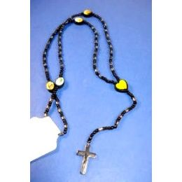 600 Units of Wholesale Bulk Rosary Cross Necklaces Assorted Colors And Styles - Necklace