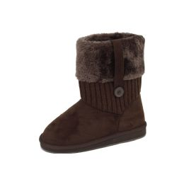 18 Units of Ladies' Boots Brown - Women's Boots