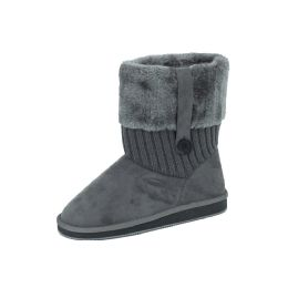 18 Units of Ladies' Boots Grey - Women's Boots