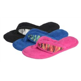 36 Units of Women's Plush Flip Flop - Women's Flip Flops