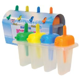 48 Units of 4 PK MINI ICE POP MAKER - Freezer Items