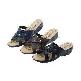 36 Units of Ladies' Sandals Assorted Colors Size 5-10 - Women's Sandals