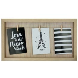 12 Units of Beige Clothesline Photo Frame - Picture Frames
