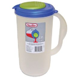 6 Units of 2 QUART STERILITE PITCHER - Plastic Drinkware