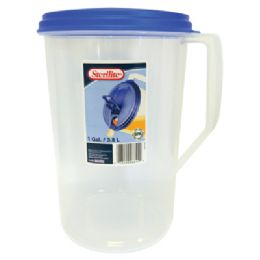 6 Units of 4 QUARTS STERILITE PITCHER - Plastic Drinkware