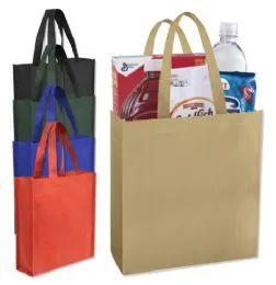 100 Units of 10X9 GIFT TOTE BAG - 5 COLORS - Tote Bags & Slings