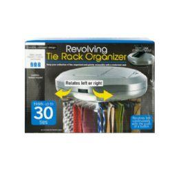 6 Units of Revolving Tie Rack Organizer - Storage Holders and Organizers