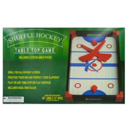 6 Units of Slap Shot Hockey Tabletop Game - Dominoes & Chess