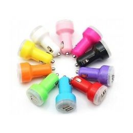 60 Units of Double Car Charger - Cell Phone Accessories