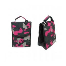 """24 Units of 10"""" Insulated Lunch Bag In A Pink Camouflage Print - Lunch Bags & Accessories"""