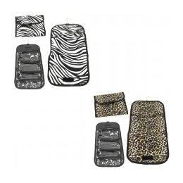 60 Units of Hanging Cosmetic Organizer In Animal Prints - Storage Holders and Organizers