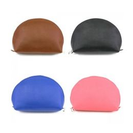 60 Units of Cosmetic Make Up Bag in a Faux Leatherette - Cosmetic Cases