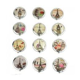 120 Units of MIRROR-PARIS: Circular Cosmetic Mirror - Cosmetics