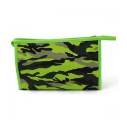 60 Units of Camo: Cosmetic Make Up Bag In A Camouflage Print - Cosmetic Cases