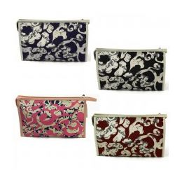 60 Units of Cosmetic Make Up Bag In An Artistic Print - Cosmetic Cases