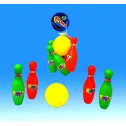 48 Units of Bowling Set In Net - Toy Sets