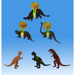 36 Units of 8 Dino With Ic Tie On Card - Animals & Reptiles