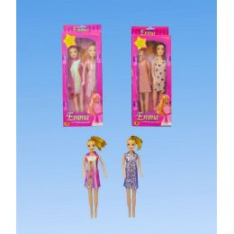 96 Units of Two Piece Doll In Box - Dolls
