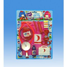 72 Units of Doctor Set In Blister Card - Toy Sets