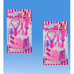 36 Units of Beauty Set In Blister Card 2 Assorted.design - Toy Sets