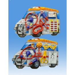 72 Units of Doctor Set In Blister Card 2 Assorted. Design - Toy Sets