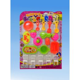 36 Units of Kitchen Set In Blister Card - Toy Sets