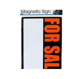 72 Units of Magnetic 'for Sale' Sign - Signs & Flags
