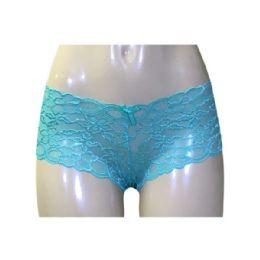 72 Units of Rose Ladys Lace Boyshort - Womens Panties & Underwear