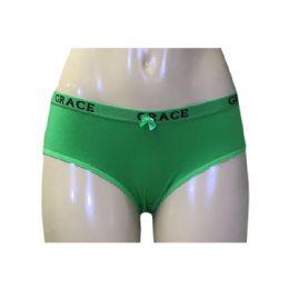 180 Units of Grace Ladys Cotton Bikini - Womens Panties & Underwear