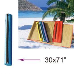 "36 Units of 30""x71"" Beach Mat - Beach Towels"