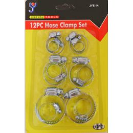 72 Units of 12 Pc Hose Clamps - Clamps