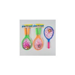 72 Units of Splash Catcher 13in 3ast Colors 2 Rackets/1 2in Ball Meshbag/hdr - Summer Toys