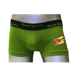 60 Units of Boys Sports Seamless Boxer - Boys Underwear