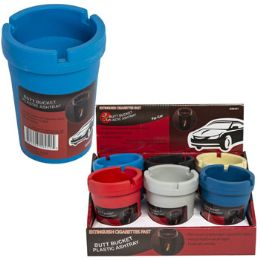 36 Units of Assorted Color Car Ashtray Butt Bucket - Auto Accessories