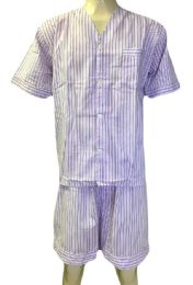 48 Units of Comfort Zone Mens Short Leg Pajamas - Mens Pajamas