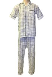 48 Units of Comfort Zone Mens Long Leg Pajamas - Mens Pajamas