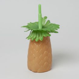 72 Units of Palm Tree Sipper Cup - Plastic Drinkware