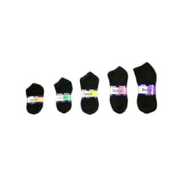 144 Units of Dolce Cotton/Spandex Sock - Boys Ankle Sock