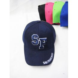 "36 Units of Kid's ""san Francisco"" Base Ball Cap - Kids Baseball Caps"